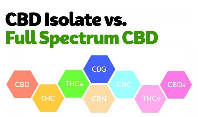 CBD Isolate vs Full spectrum