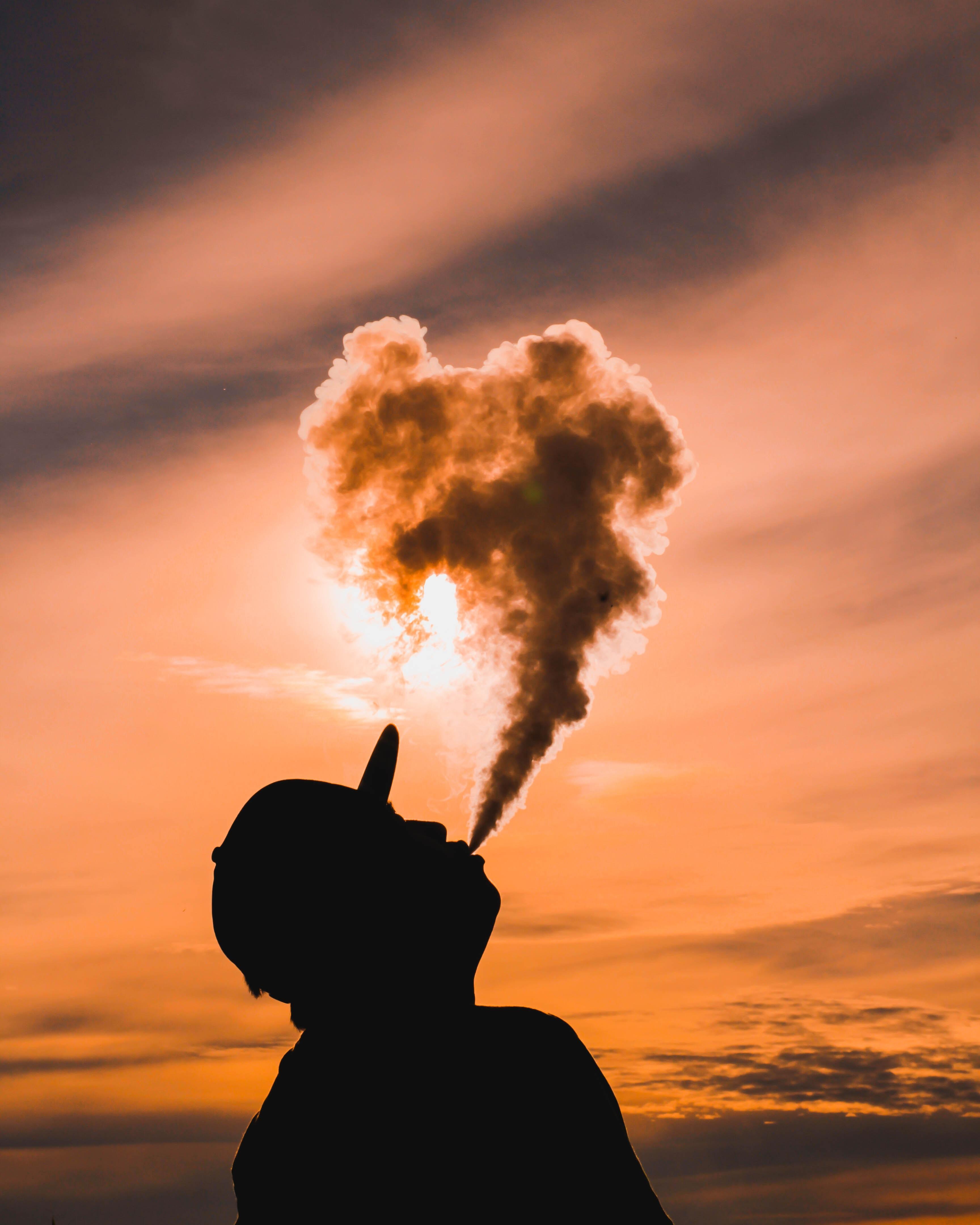 Vape City Sunset Cloud